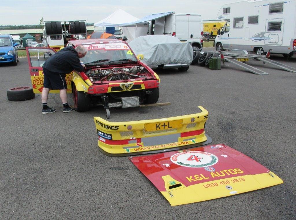 Keith Waite's 75 kit car