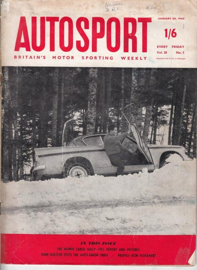 Autosport - Jan 29 1960