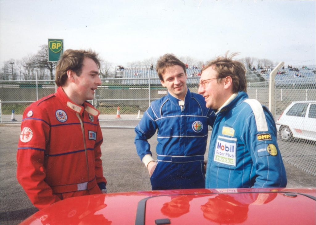 1993 – Phil Snelling, Gary Orchard and Martin Parsons in the Brands assembly area