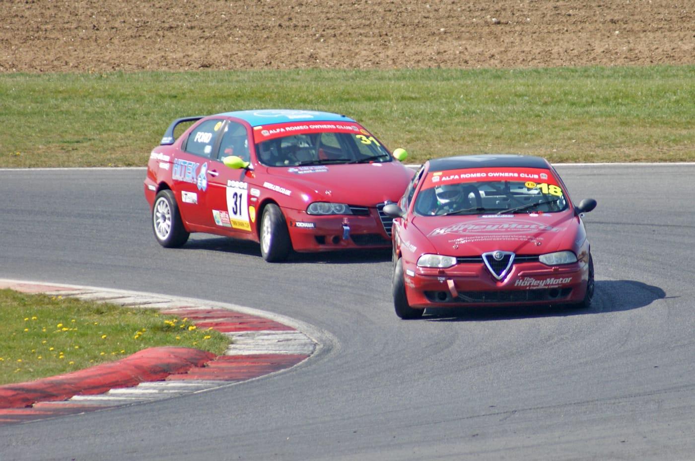 Organisers of the UK Alfashop Alfa Romeo Motor Racing Championship